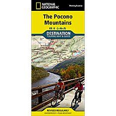 Pocono Mountains Destination Map