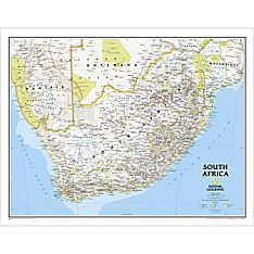 South Africa Classic Wall Map, Laminated