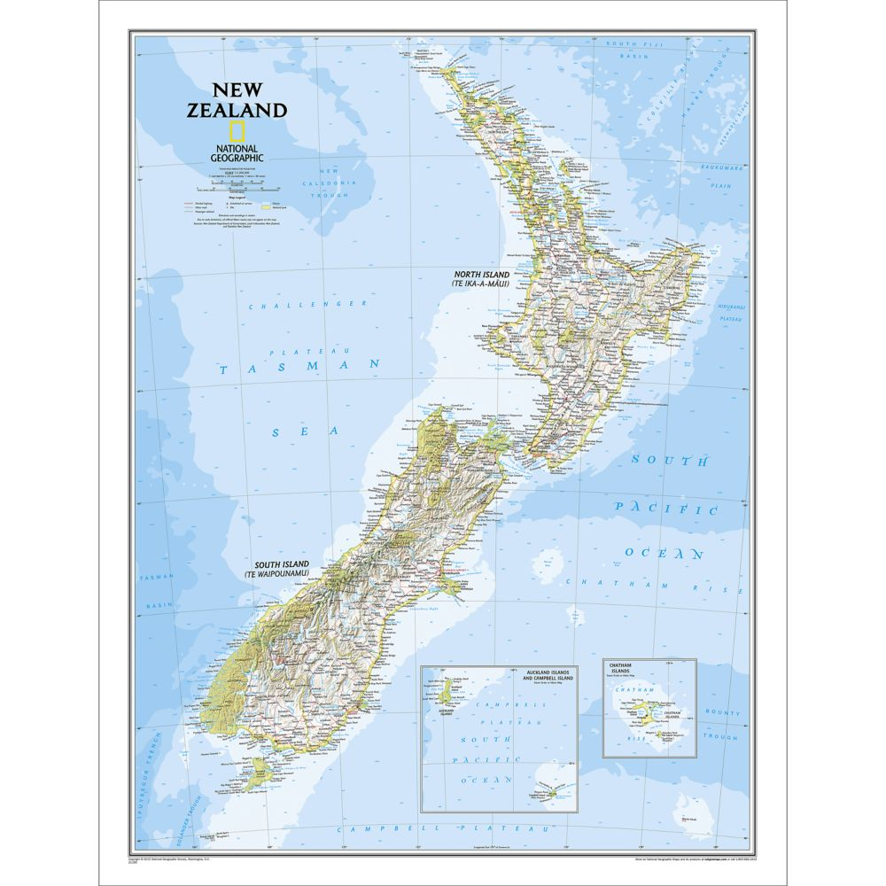 World Executive Pacific Centered Wall Map Enlarged And