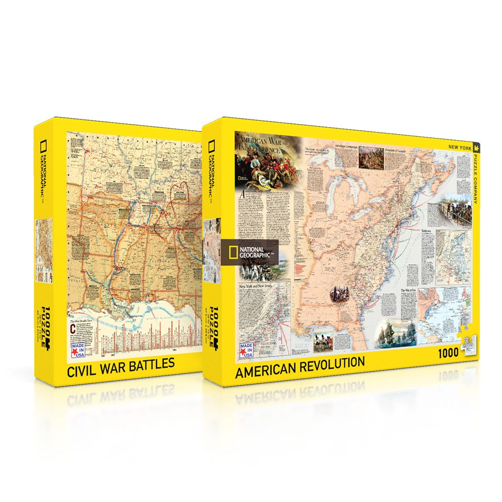 American Battle Puzzle Collection
