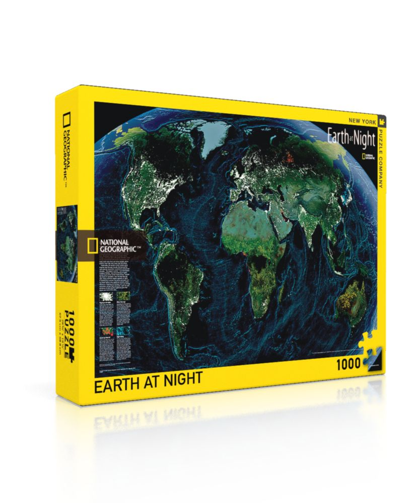 Earth at Night Puzzle