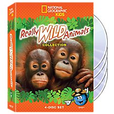 Really Wild Animals Collection 4-DVD Set