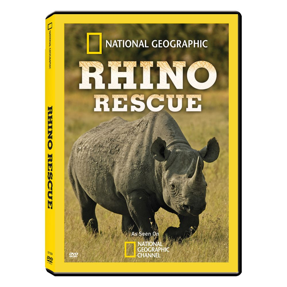 Rhino Rescue - Standard DVD - National Geographic Store