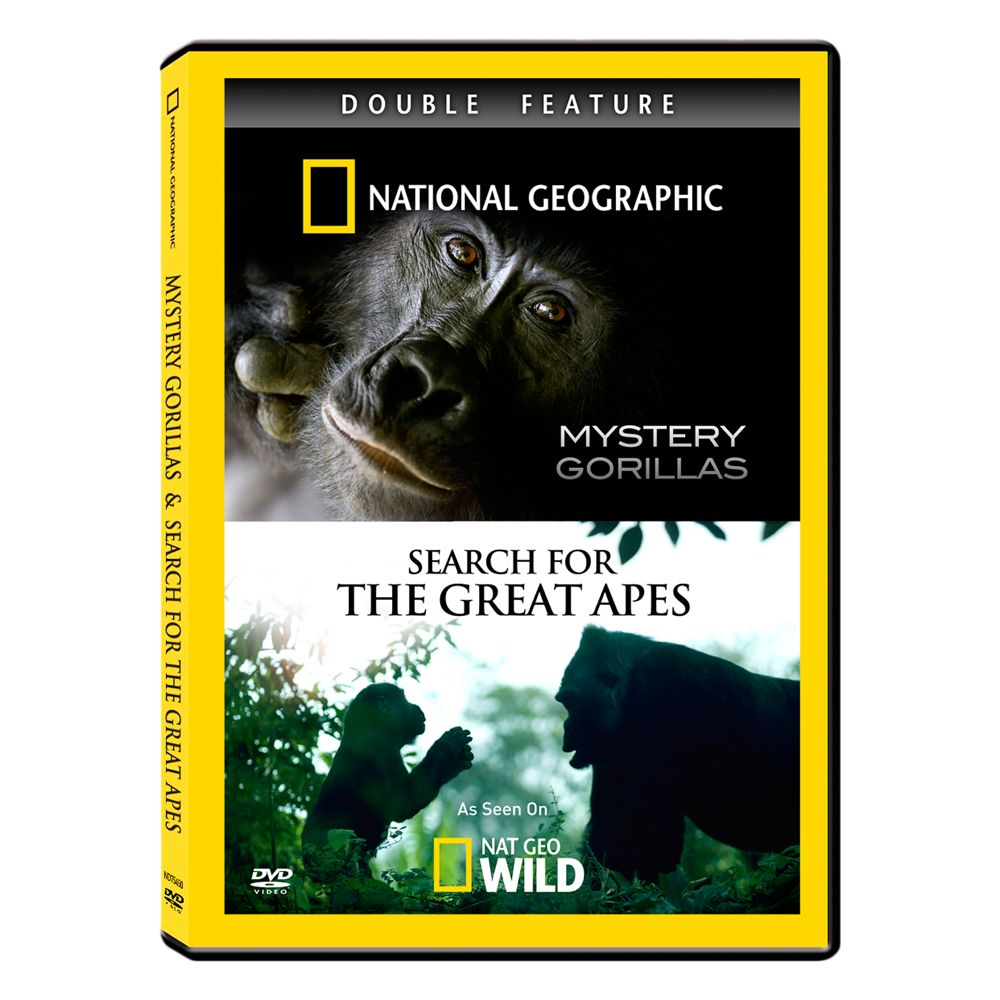 Mystery Gorillas & Search for the Great Apes DVD Double Feature