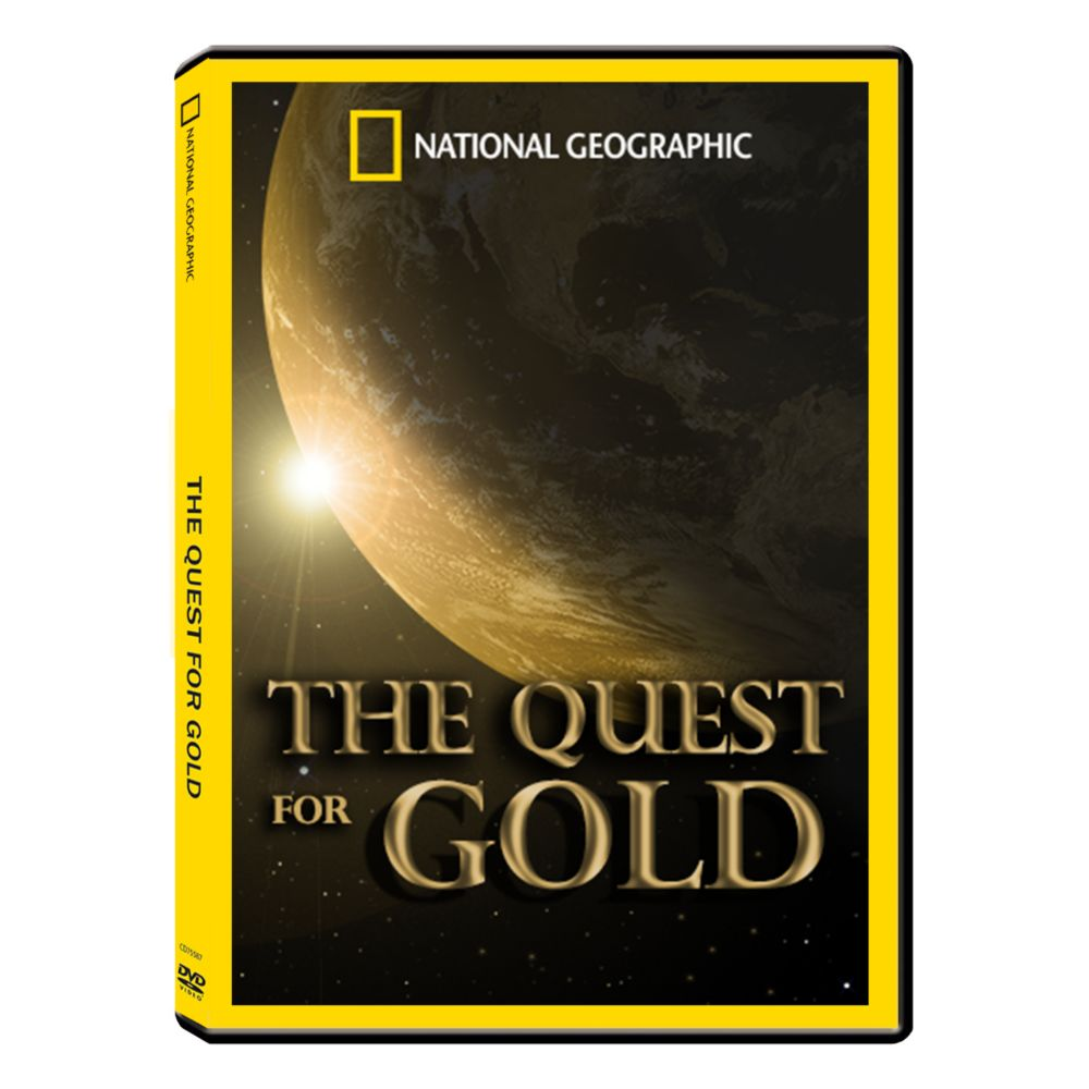 The Quest For Gold DVD