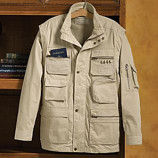 men 39 s convertible travel jacket national geographic store On travel gear jacket