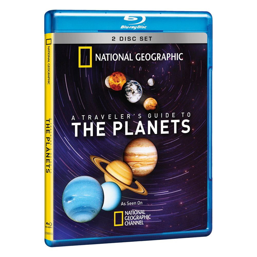 A Traveler's Guide to the Planets Blu-ray 2-Disc Set