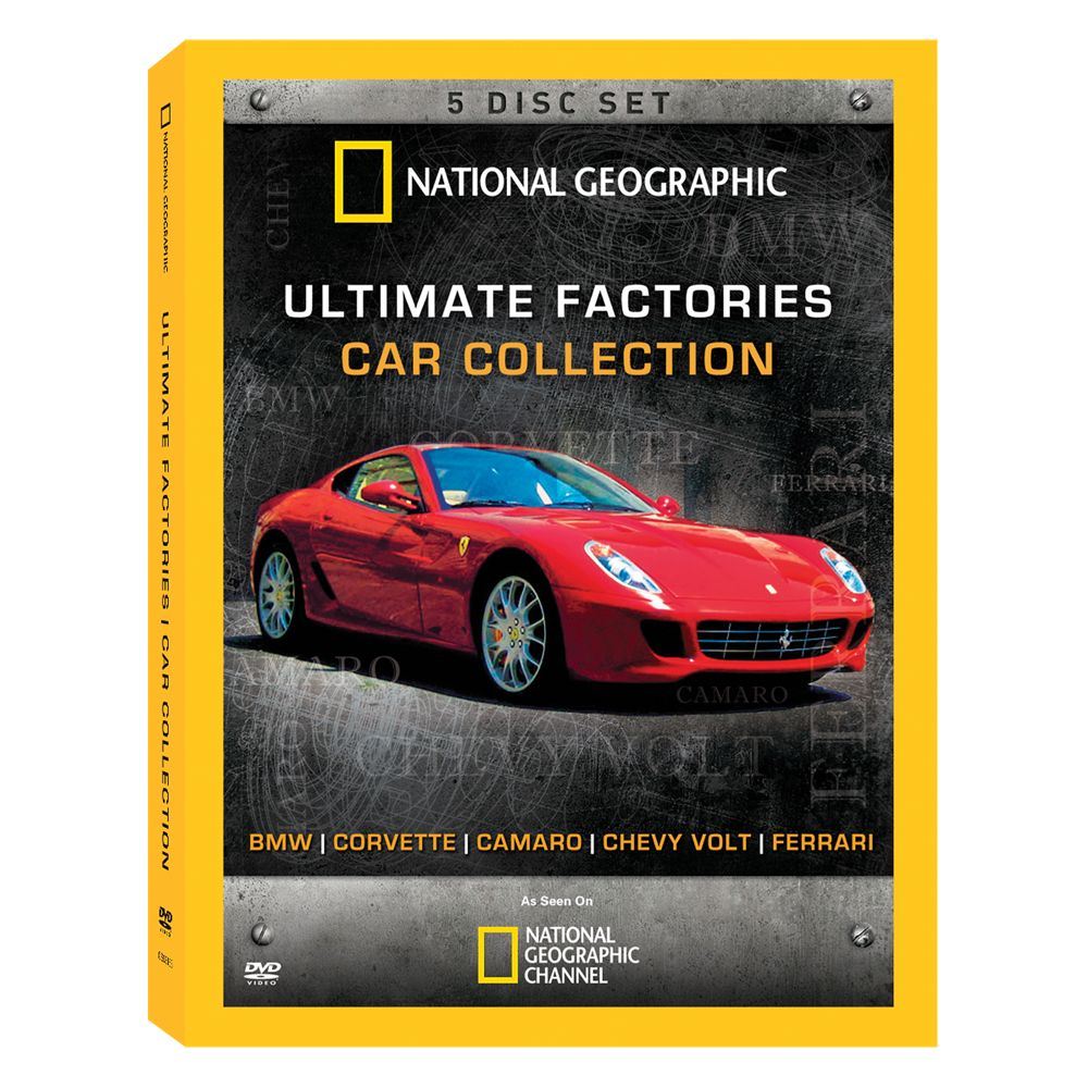 Ultimate Factories Car Collection 2-DVD Set