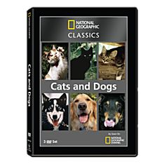 National Geographic Classics: Cats and Dogs 3-DVD Set