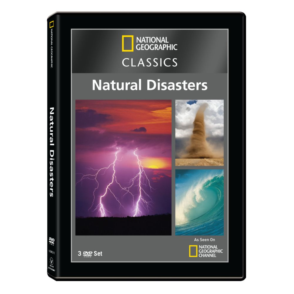 National Geographic Classics: Natural Disasters DVD Collection