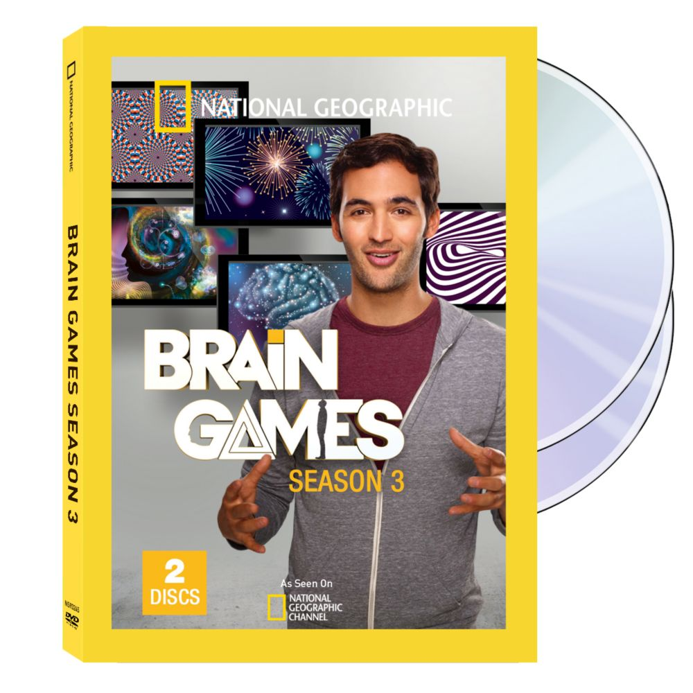 Brain Games Season Three DVD Set