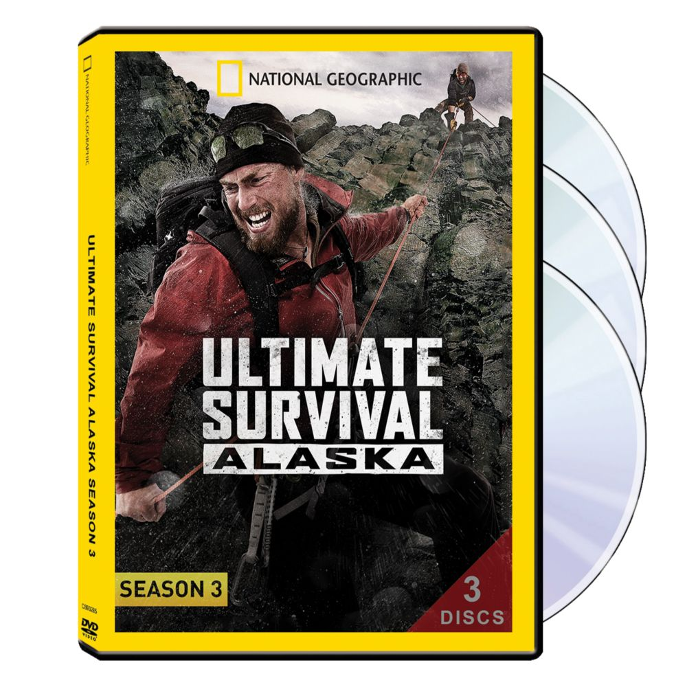 Ultimate Survival Alaska Season Three 3-DVD Set