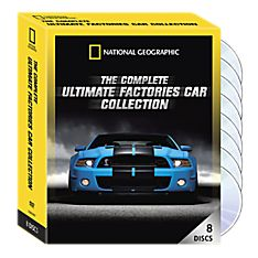 The Complete Ultimate Factories Cars Collection 8-DVD Set