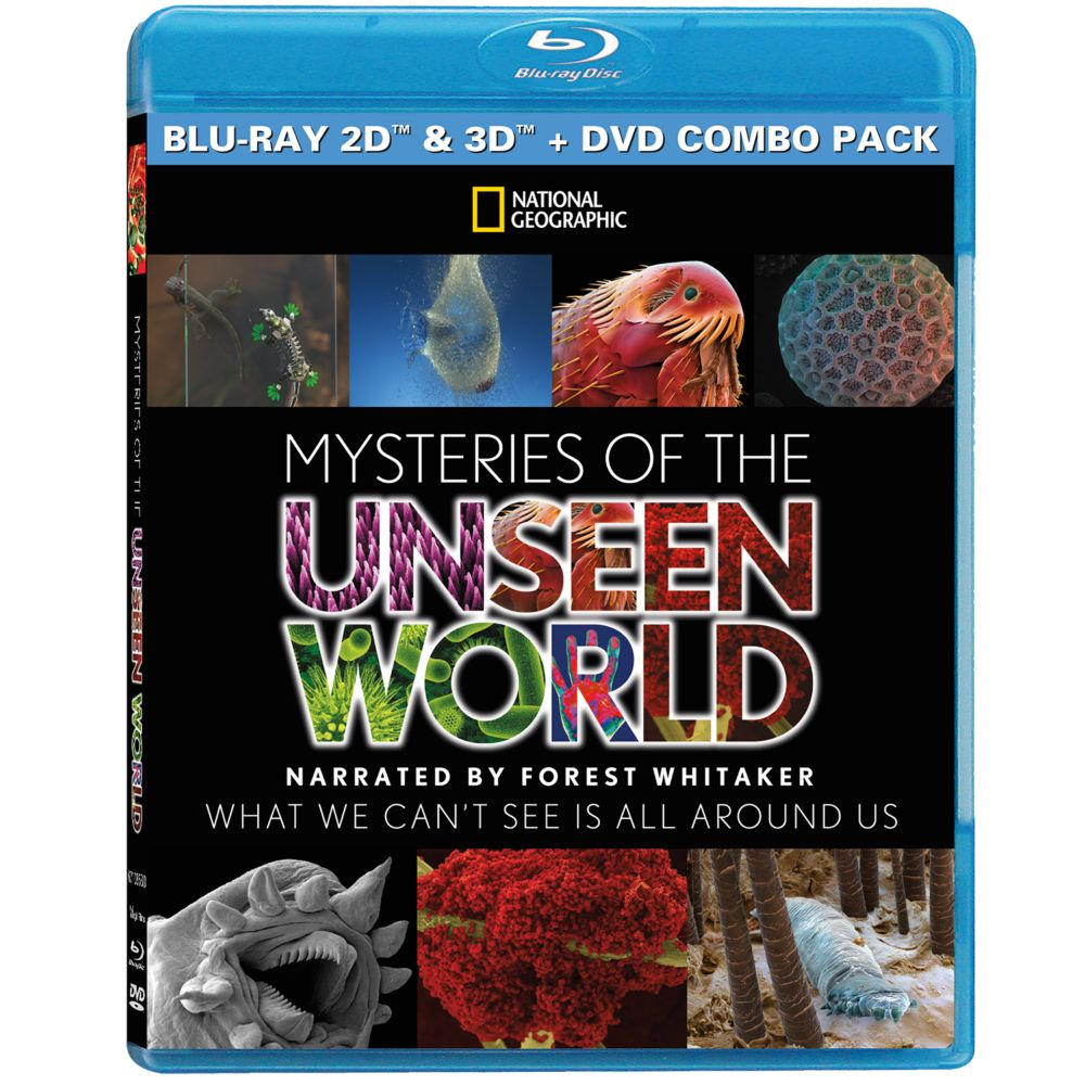 Mysteries of the Unseen World DVD and Blu-ray Set