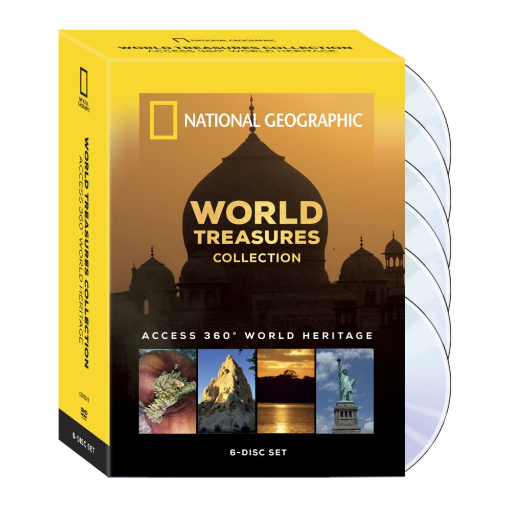 World Treasures Collection: Access 360 World Heritage 6-DVD Set