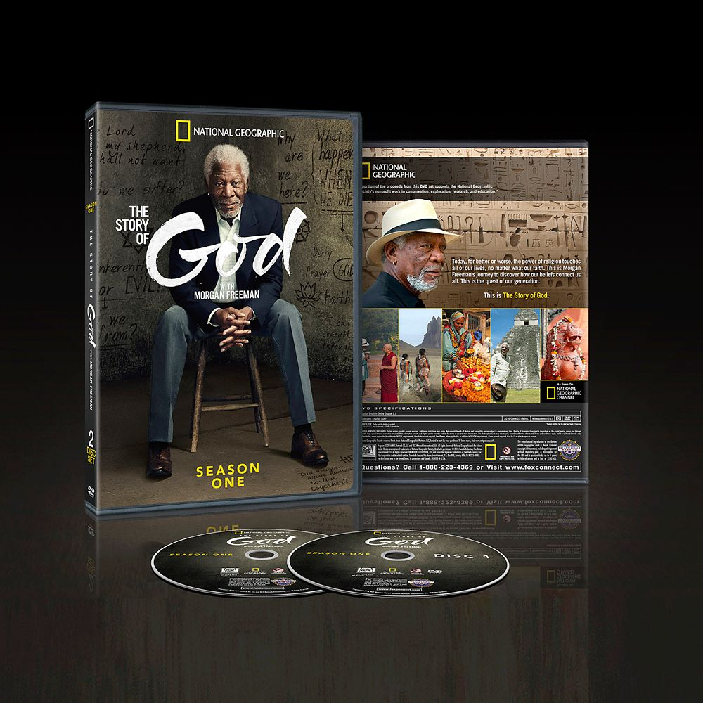 The Story of God with Morgan Freeman DVD