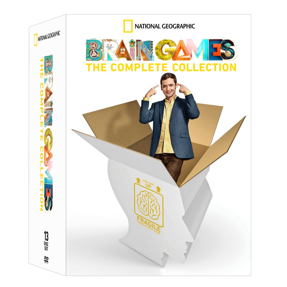 Brain Games The Complete Collection DVD