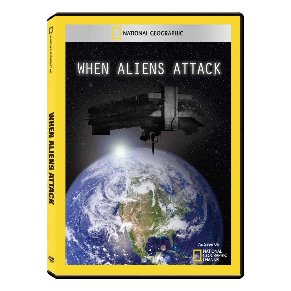 When Aliens Attack DVD-R