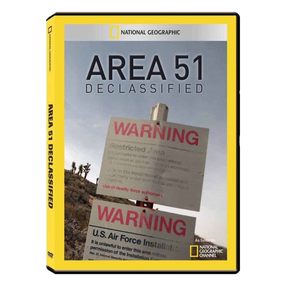 Area 51 Declassified DVD-R