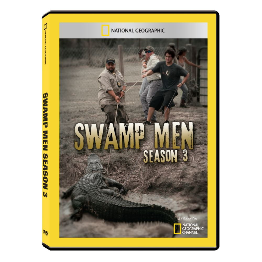 Swamp Men Season Three DVD-R Set