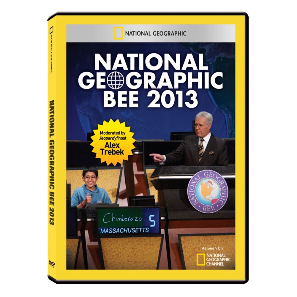 National Geographic Bee 2013 DVD-R