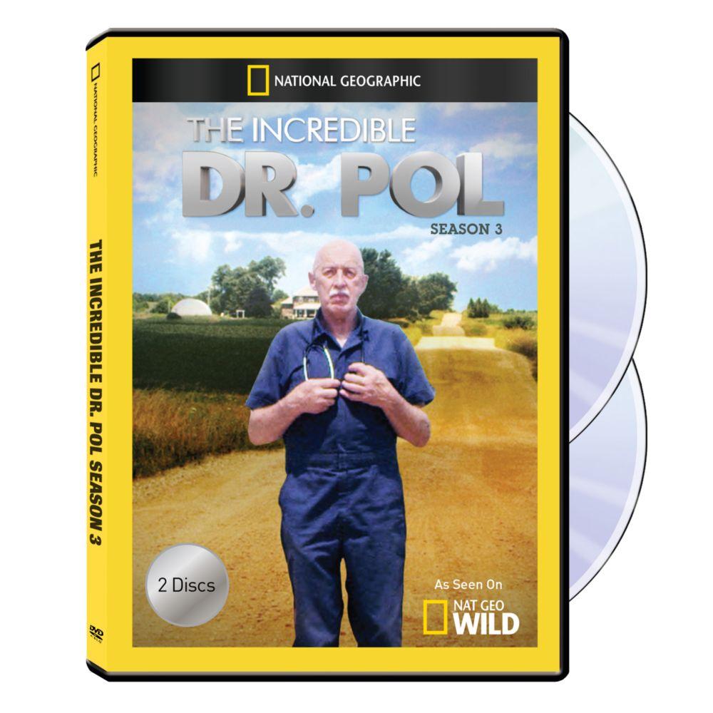 The Incredible Dr. Pol Season Three 2-DVD-R Set