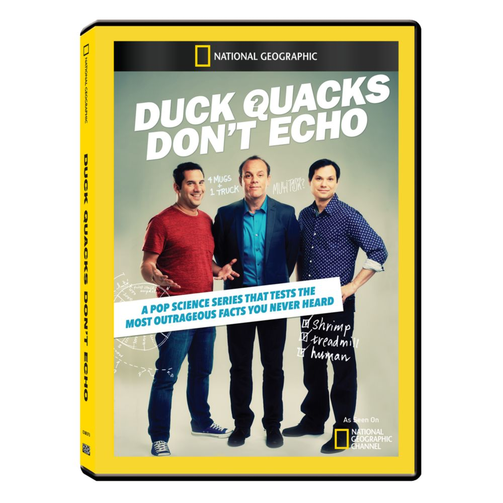 Duck Quacks Don't Echo DVD-R