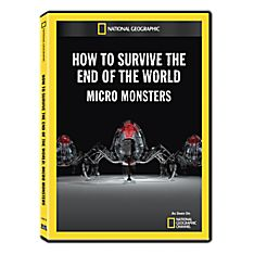 How to Survive the End of the World: Micro Monsters DVD-R