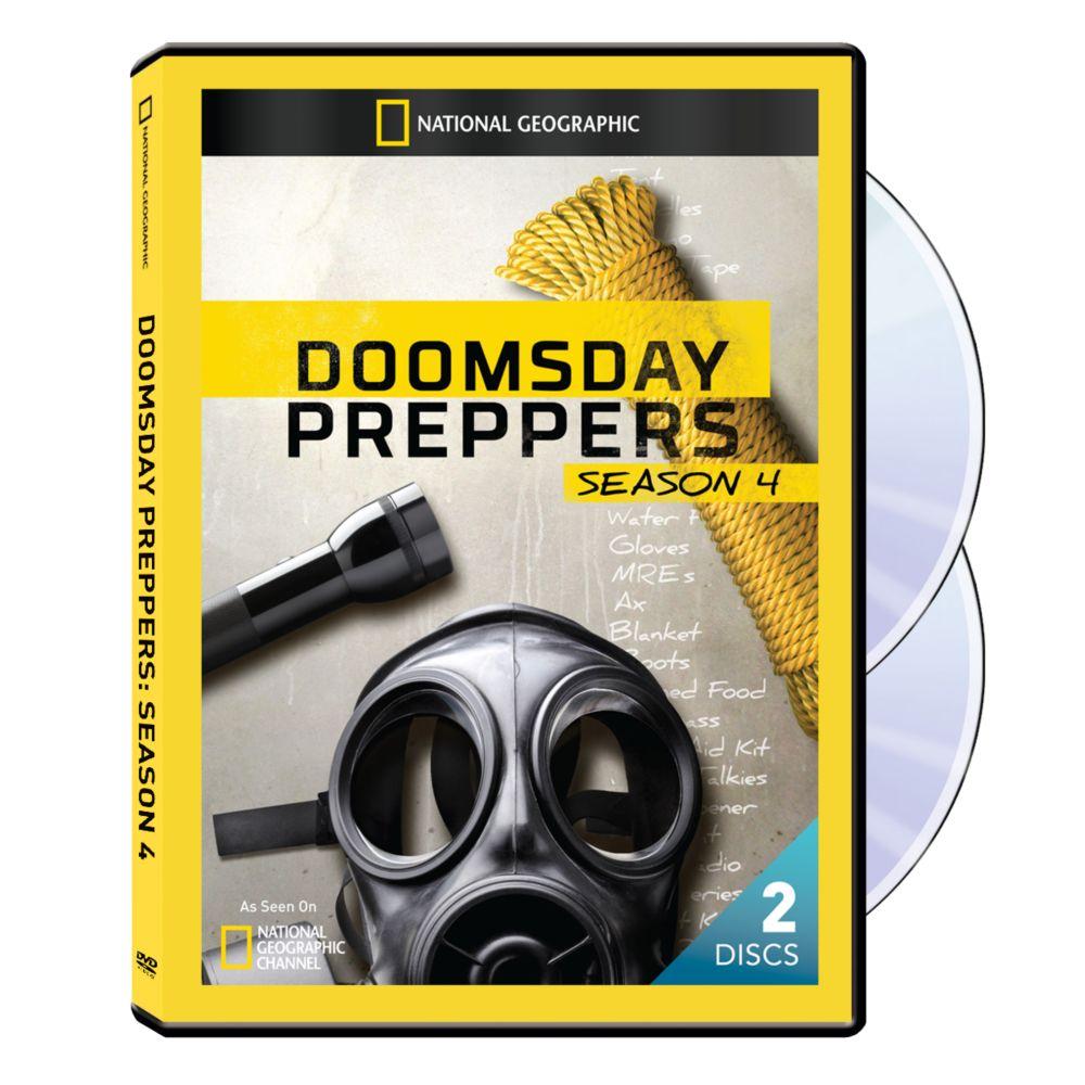 Doomsday Preppers Season Four DVD-R