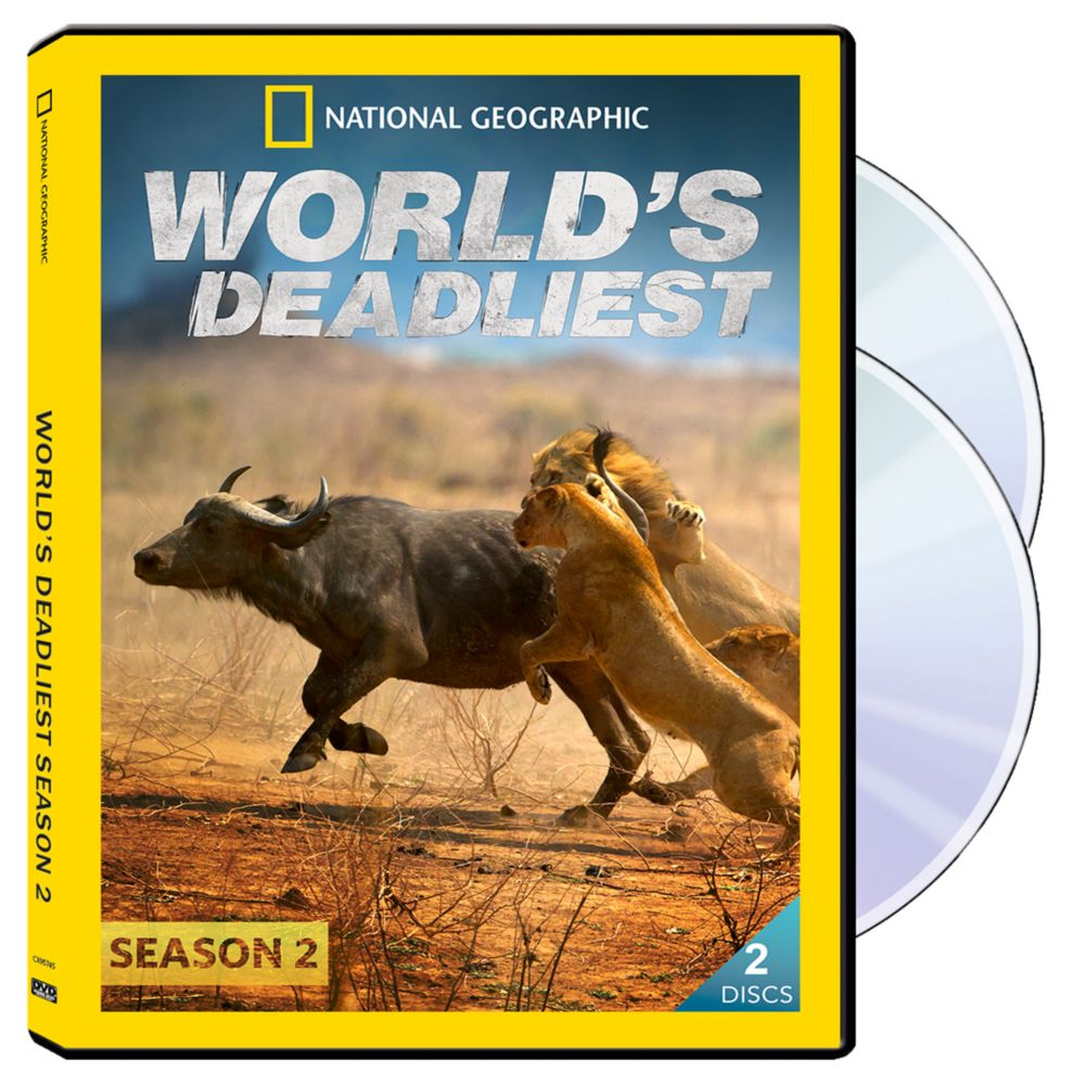 World's Deadliest Season Two 2-DVD-R Set