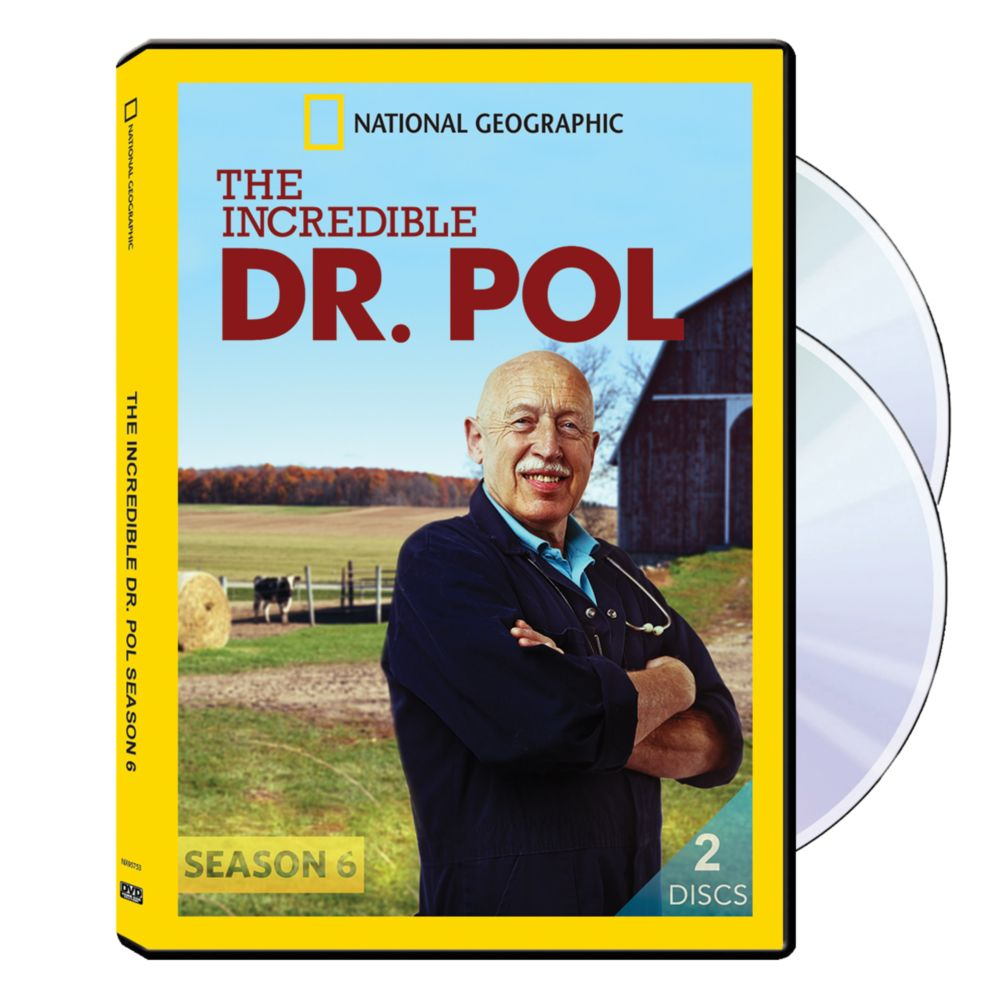 The Incredible Dr. Pol Season Six DVD-R