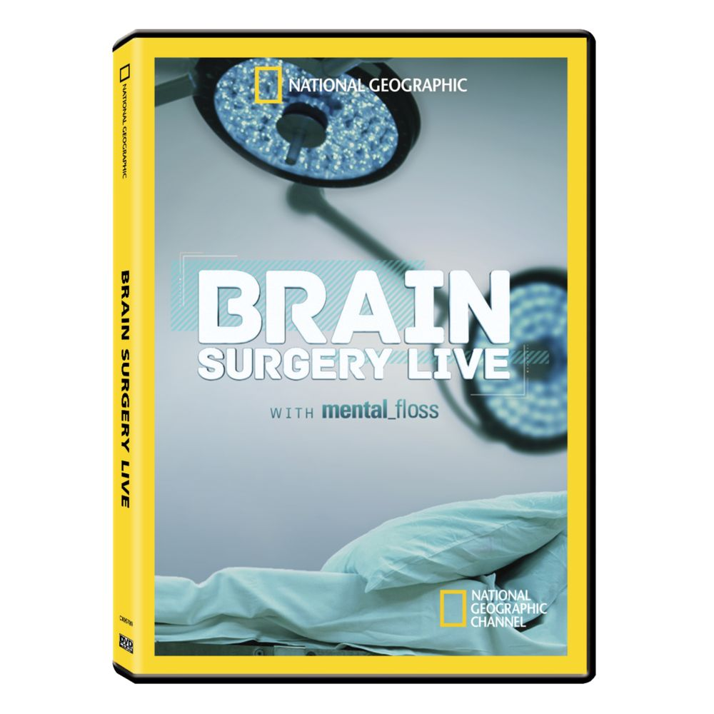 Brain Surgery Live with Mental Floss DVD-R