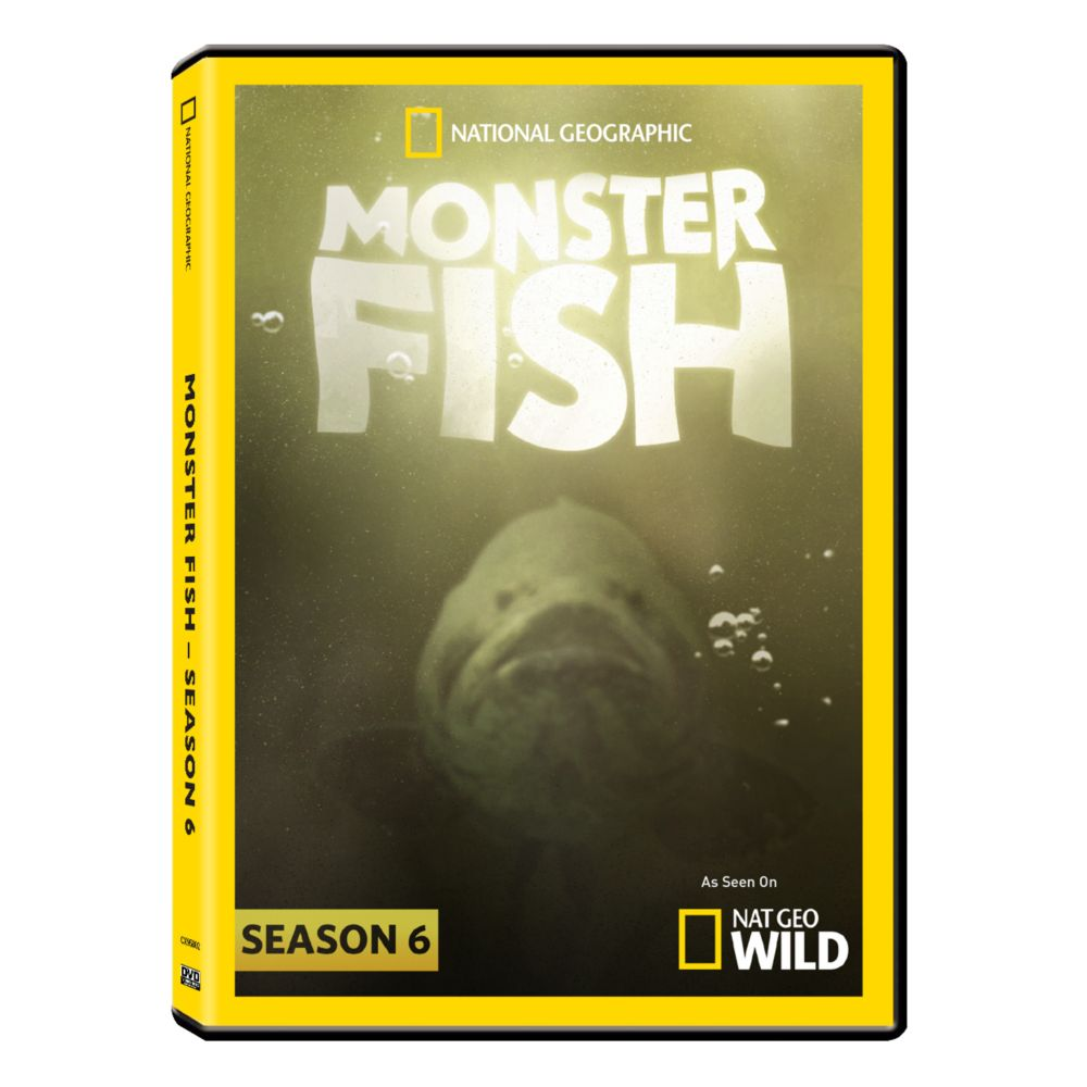 Monster Fish Season Six DVD-R