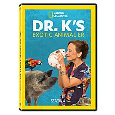 Dr. K's Exotic Animal ER - Season 4 DVD-R