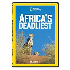 Africa's Deadliest Season Four DVD-R