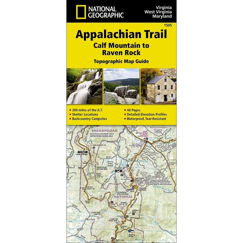 1505 Appalachian Trail, Calf Mountain to Raven Rock (Virginia, West Virginia, Maryland) Trail Map