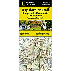 1509 Appalachian Trail, Schaghticoke Mountain to East Mountain (Connecticut, Massachusetts) Trail Map