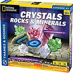 National Geographic Crystals, Rocks, and Minerals Science Kit