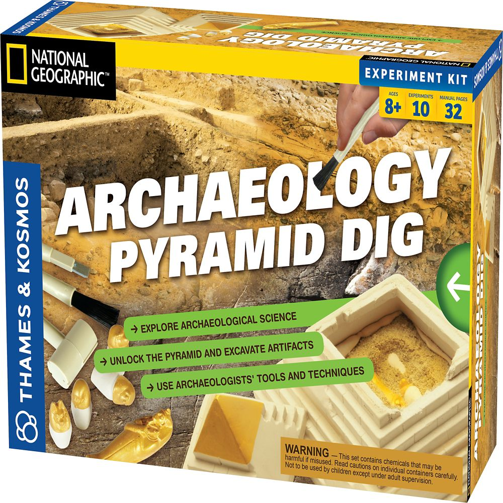 National Geographic Archaeology Kit: Egyptian Pyramid