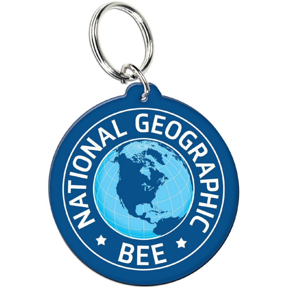 National Geographic Bee Key Chain