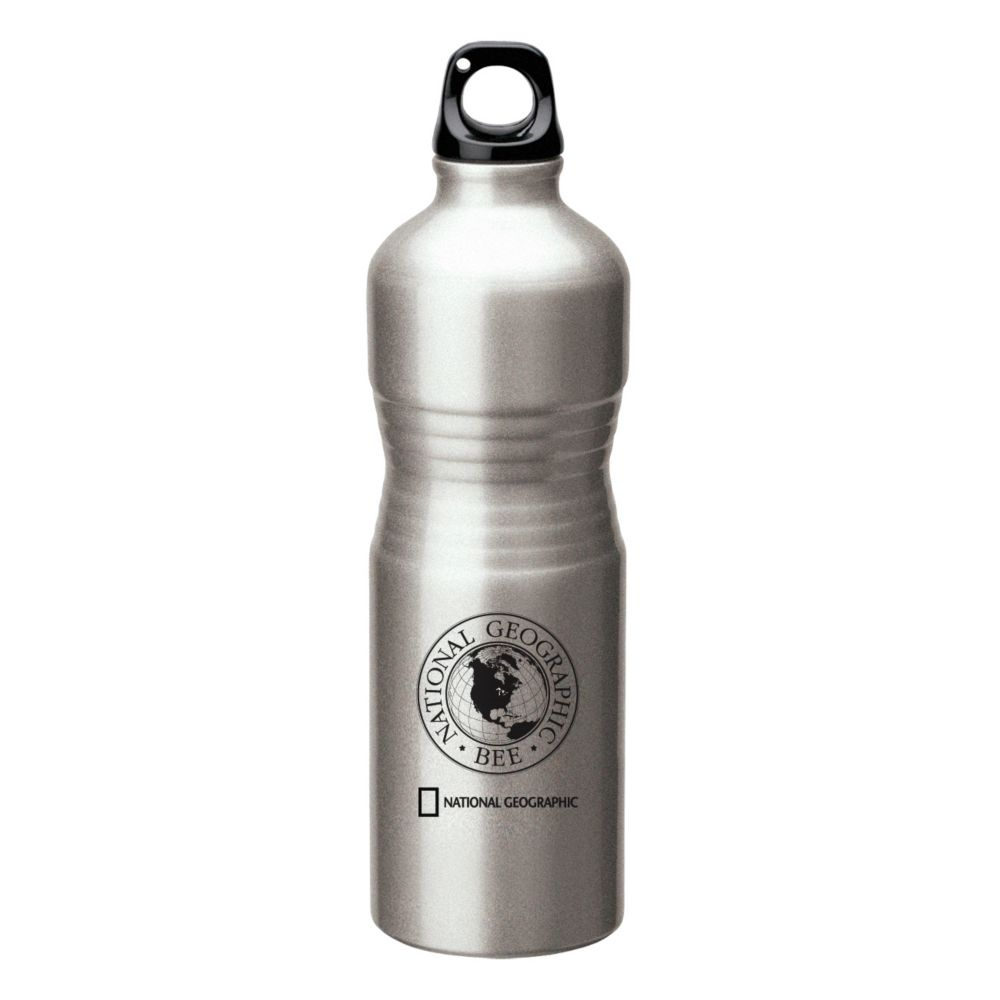 National Geographic Bee Aluminum Water Bottle
