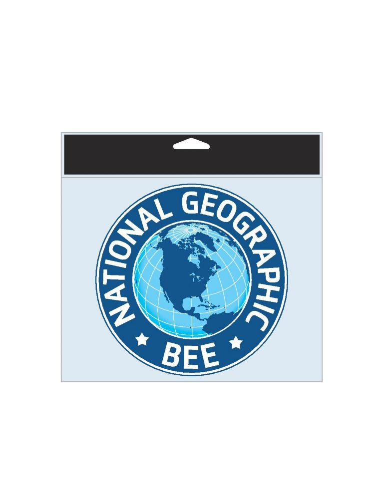 National Geographic Bee Decal