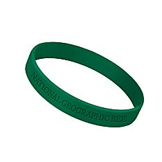National Geographic Bee Rubber Bracelet