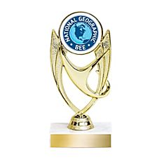 National Geographic Bee Trophy - Blank