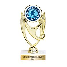 National Geographic Bee Trophy - Personalized