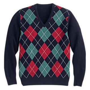 Argyle Sweater Women