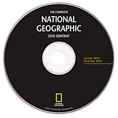 Complete National Geographic - 2010 Annual Update DVD-ROM