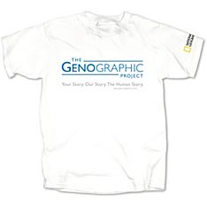 Genographic Project Human Story T-Shirt