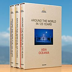 Around the World in 125 Years - 3-Volume Collector's Edition Book from TASCHEN