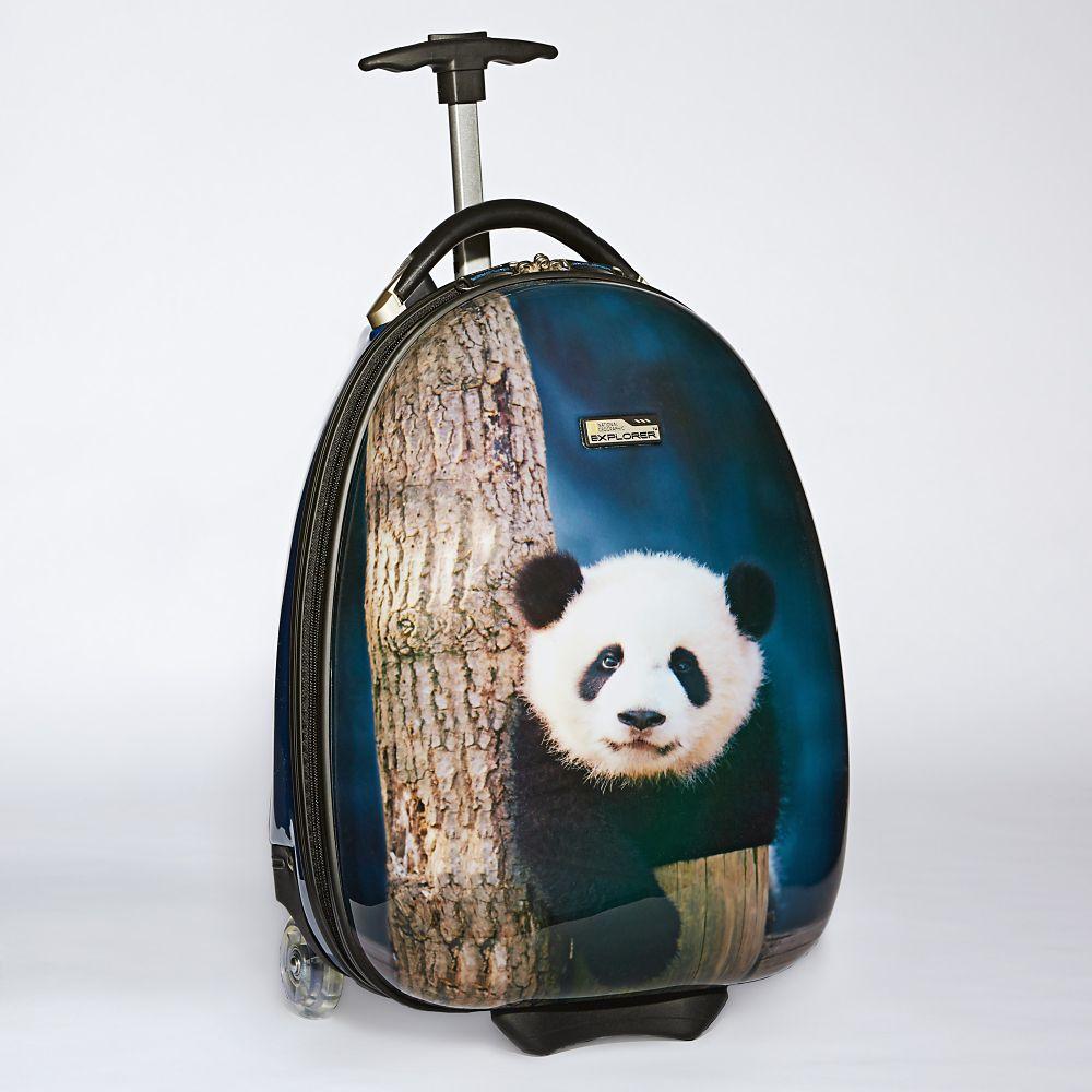 National Geographic Kids Panda Hard-side Luggage